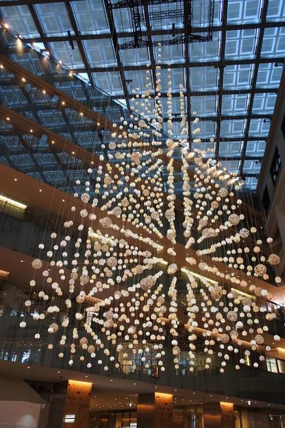 丸の内・南口*KITTEのクリスマスツリー3