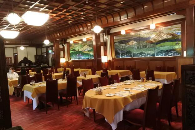 軽井沢万平ホテルの朝食ダイニング2