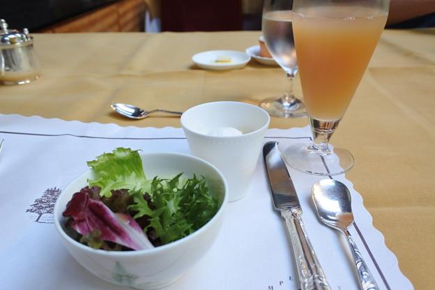 軽井沢万平ホテルの朝食2