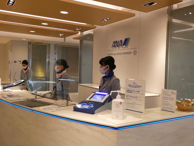羽田空港・ANA・ラウンジ2
