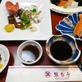 平戸温泉・旗松亭の夕食1