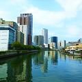 堂島大橋からの眺め