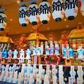 写真: 祇園祭 八坂神社 御旅所に鎮座する御神輿