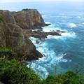 高さ50mの断崖