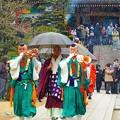 写真: 山伏と僧侶方の上堂