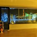 館内からの夜景