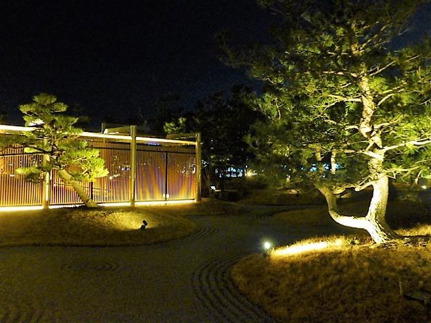 神戸みなと温泉 蓮の日本庭園