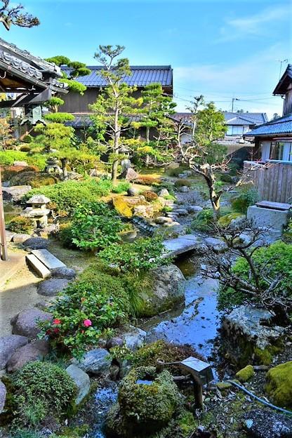 五個荘近江商人屋敷 中江準五郎邸の庭園