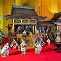Photos: 精巧に作られた 古今雛御殿飾り