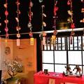 Photos: つるし雛や紙雛の展示