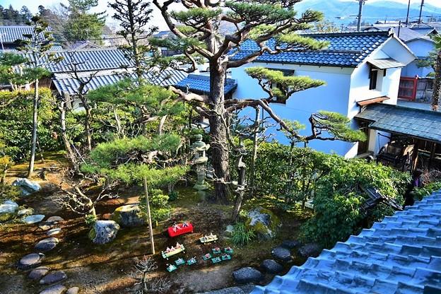 Photos: 上から見下ろすお庭