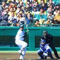 Photos: 志願して出場した福留選手