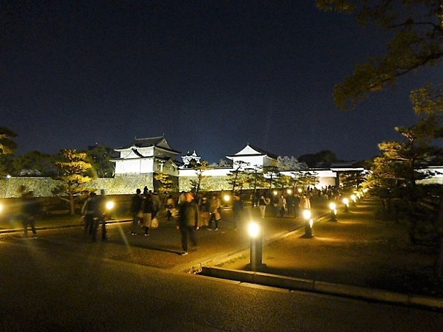 大阪城の正面玄関 大手口