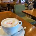 山桜のミルク珈琲