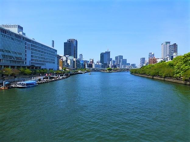 天満橋からの大川