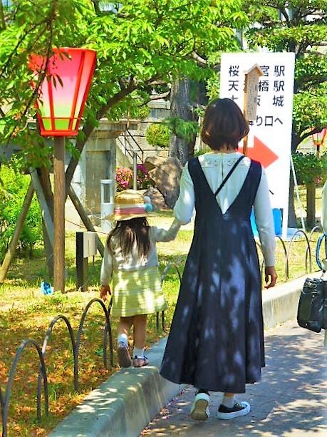 Photos: ママとお花見