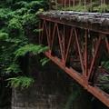 阿寺渓谷鉄橋2