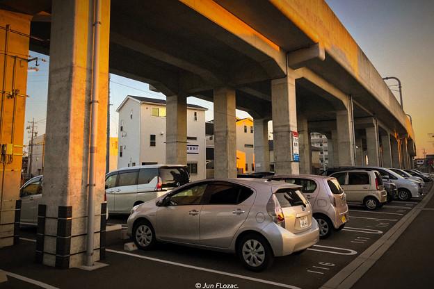 """Guarded parking"" Nagoya Railway"