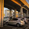 "Photos: ""Guarded parking"" Nagoya Railway"