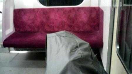 電車で帰ろう