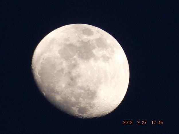 2018/02/27(火)のお月様