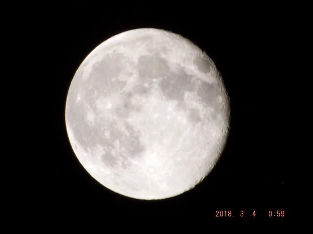 2018/03/04(日)のお月様
