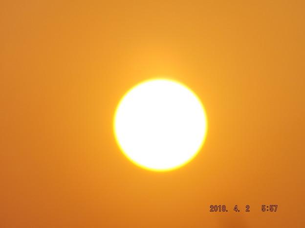 2018/04/02(月)の朝陽