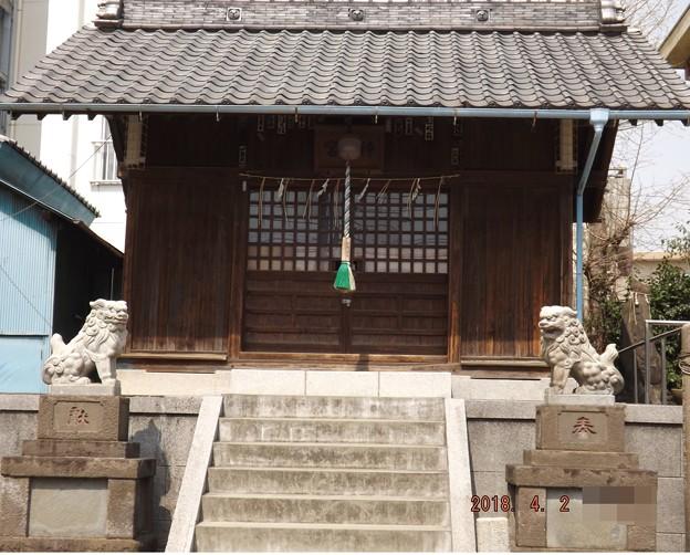 2018/04/02(月)・天祖神社・貴乃花部屋の近所