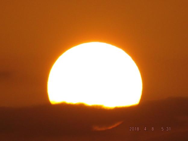 2018/04/08(日)・朝陽・2