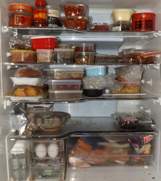 2018/04/09(月)・冷蔵庫の中身の整理整頓してかなりスッキリ(#^^#)