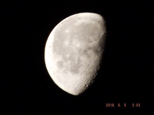 2018/06/05(火)のお月様