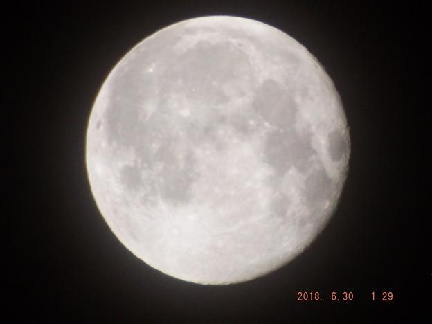 2018/06/30(土)のお月様
