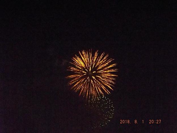 2018/08/01(水)・地元の花火大会