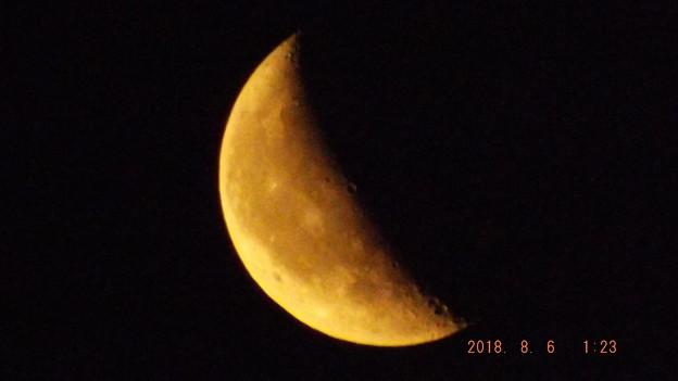 2018/08/06(月)のお月様