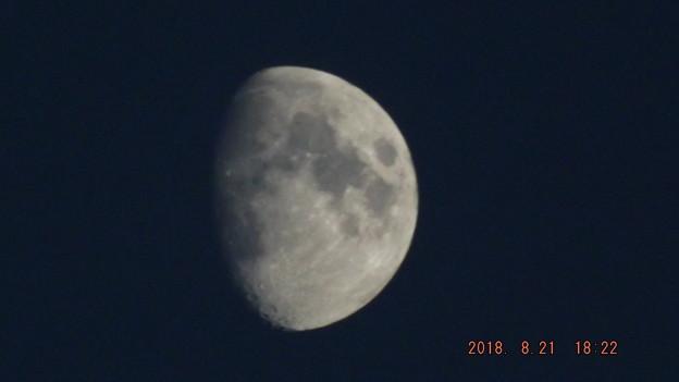 2018/08/21(火)のお月様
