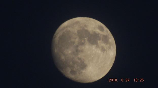 2018/08/24(金)のお月様