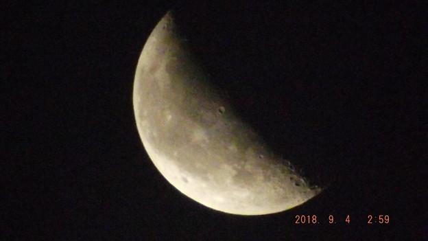 2018/09/04(火)のお月様