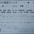 写真: 2018/09/14(金)・本日の健康チェック