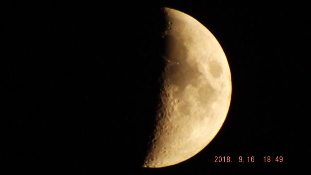 2018/09/16(日)のお月様