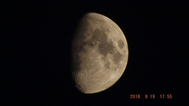 2018/09/19(水)のお月様