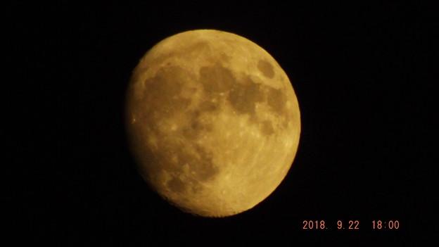2018/09/22(土)のお月様