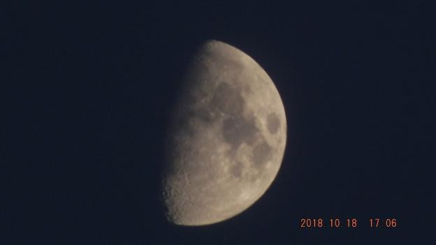 2018/10/18(木)のお月様