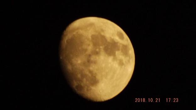 2018/10/21(日)のお月様