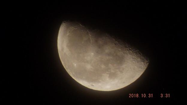 2018/10/31(水)のお月様
