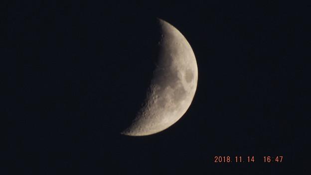 2018/11/14(水)のお月様