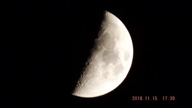 Photos: 2018/11/15(木)のお月様