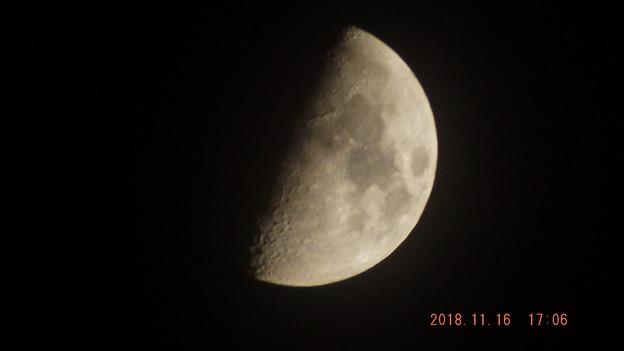 2018/11/16(金)のお月様