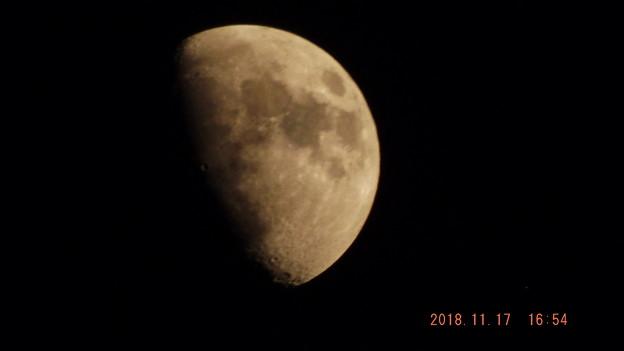 2018/11/17(土)のお月様