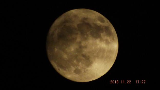 2018/11/22(木)のお月様