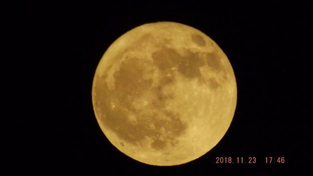 2018/11/23(金)のお月様(満月)
